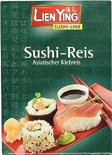 Lien Ying Sushi Line Reis, Asiatischer Klebreis, 250 g