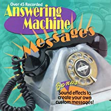 Sound Effects: Answering Machine Messages