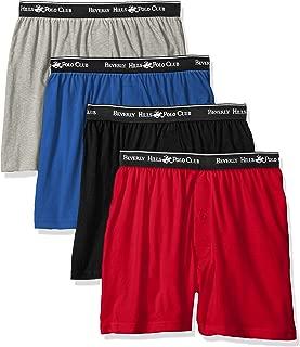 Men's 4 Pack Knit Boxer
