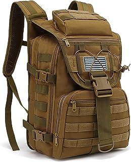 حقيبة ظهر عسكرية تكتيكية للرجال، حقائب ظهر للجيش البقاء على قيد الحياة للتخييم والمشي لمسافات طويلة والرحلات