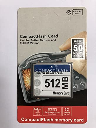 512MB CompactFlash Memory Card (CF) use Camera