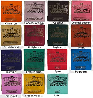 *Set of 16* Books of Incense Matches - One of each of the 16 Fragrances Available