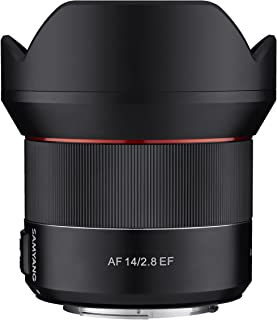 Samyang 14mm F2.8 AF Wide Angle, Full Frame Auto Focus Lens for Canon EF