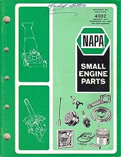 Best napa small engine parts catalog Reviews