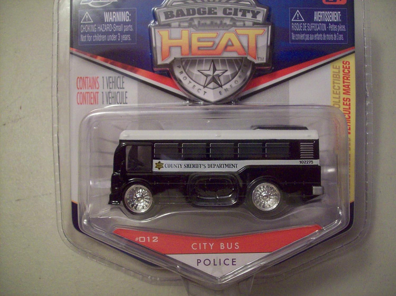 Jada Badge City Heat City Bus County Sheriff's Department