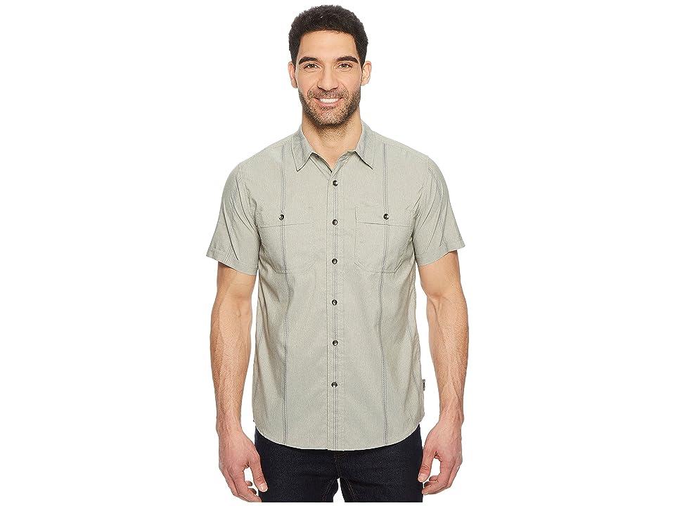 Royal Robbins Vista Dry Short Sleeve Shirt (Fiddlehead) Men