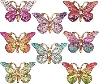 DIYstore 40 colgantes de mariposa coloridos con forma de mariposa, esmalte para pendientes, pulseras, collares, casos de t...