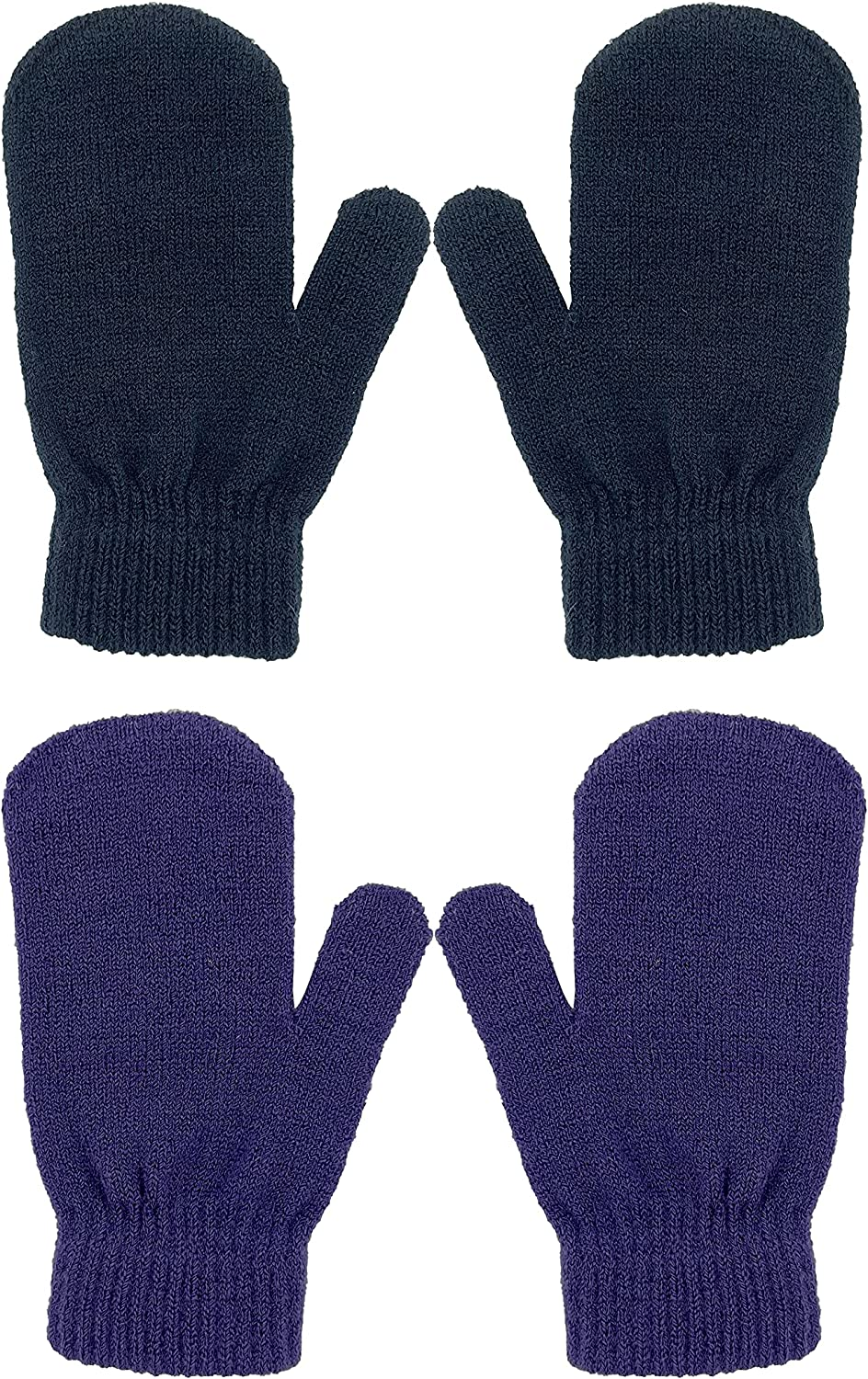 Choice LARTIGUE 2 Pairs Kids New popularity Winter Gloves Warm Mi Fingers Full Knitted