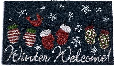 DII Winter Welcome Holiday Doormat