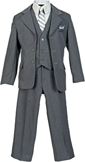 1920s Children Fashions: Girls, Boys, Baby Costumes Boys Pinstripe Suit $49.99 AT vintagedancer.com