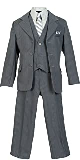 1940s Children's Clothing: Girls, Boys, Baby, Toddler Boys Pinstripe Suit $49.99 AT vintagedancer.com