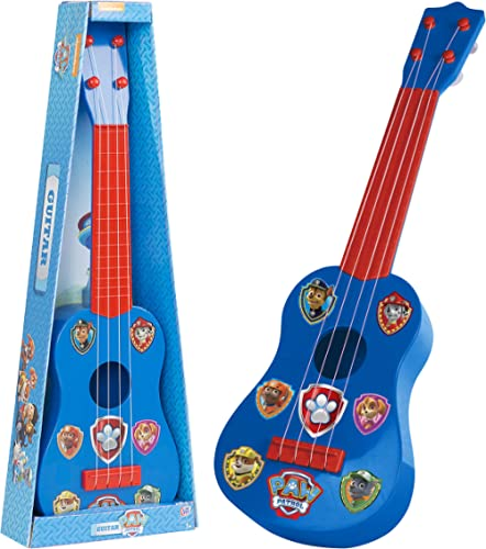 PAW PATROL- Jouet Guitare, 1383720, Red