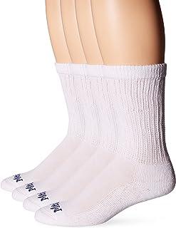 MediPEDS Men's 4 Pack Diabetic Crew Socks