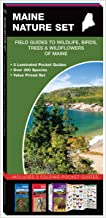 Maine Nature Set: Field Guides to Wildlife, Birds, Trees & Wildflowers of Maine