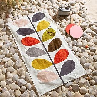 Orla Kiely Ręcznik plażowy z wieloma nóżkami
