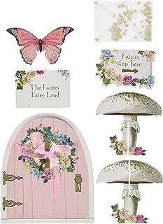 Talking Tables Truly Fairy Party Door Sign Set, Multicolor
