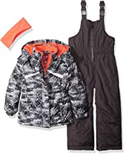 Pink Platinum Girls' Insulated Two-Piece Snowsuit