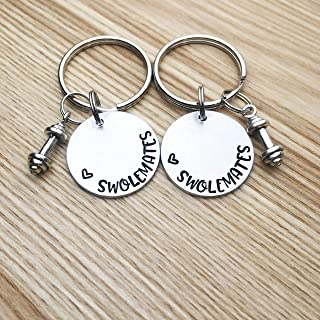Swole mates Swolemates keychains for couples Couples Keychain set, Set of 2