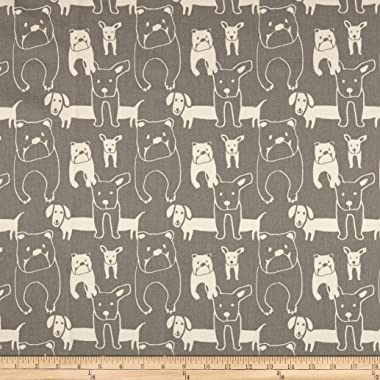 Premier Prints Pedigree Canvas Fabric, Storm, Fabric By The Yard