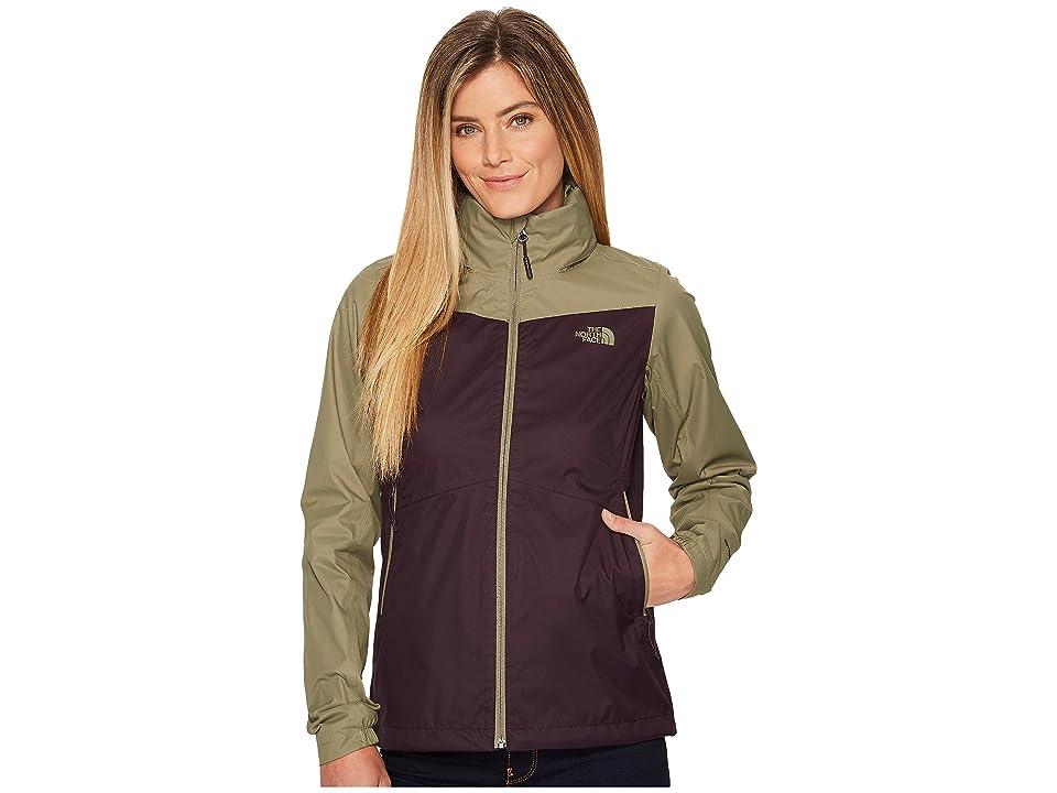 The North Face Resolve Plus Jacket (Galaxy Purple/Deep Lichen Green) Women