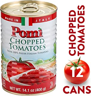 Pomì Chopped Tomatoes Can, 14.1 oz, 12 Pack