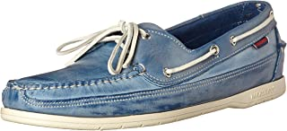 Sebago Chaussures bateau voilier en cuir pour hommes Tailles Oxfords