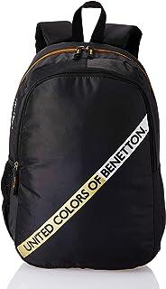 United Colors of Benetton 20 Ltrs Black Laptop Backpack (0IP6MPBKP003I)