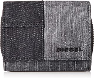 Diesel Men's VENEZZE SPEJAP-Wallet, Grey/Blue, UNI
