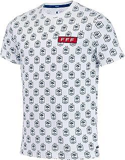 Equipe de France de Football Frankreich-Fußballteam T-Shirt FFF, offizielle Kollektion, Herrengröße