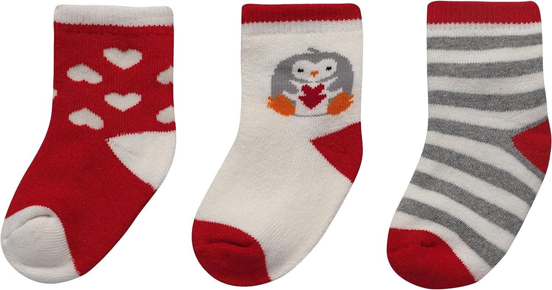 Alva Edison 3pairs Non Skid Unisex Baby Baby Quarter Socks,Toddler Socks,For Boys /&Girls,0-3T