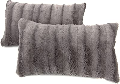 Cheer Collection Set of Down /& Feather Throw Pillow /& Couch Cushion Insert