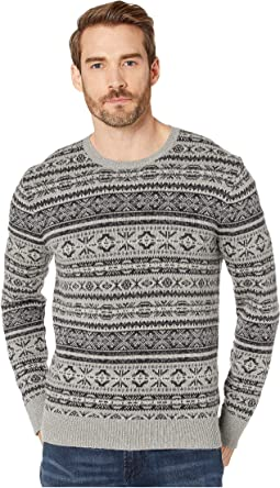 Grey Fairisle