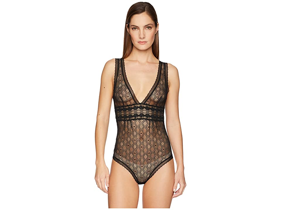 Stella McCartney Jasmine Inspiring Bodysuit (Black) Women