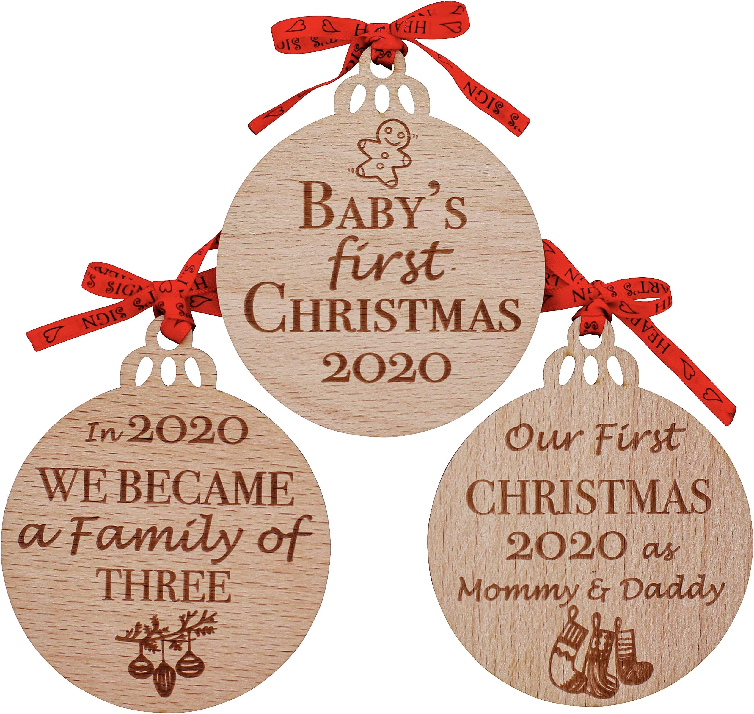 The Tree Lot Baby/'s First Christmas Ornament