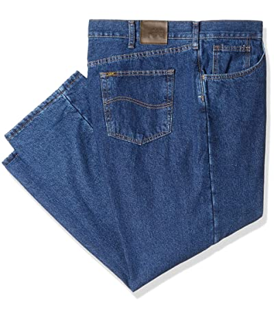 Lee Big-tall Fleece Lined Relaxed Fit Straight Leg Jean