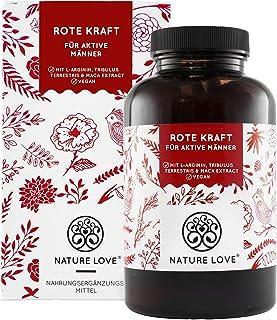 NATURE LOVE® Rote Kraft für aktive Männer – 90 Kapseln – Laborgeprüft...