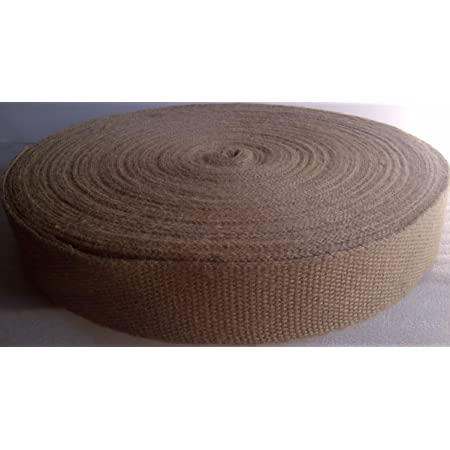 "Best quality strongest web Jute webbing 2/"" wide 10lb or 12lb select any length"