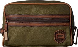 dfb6cf13d7 Scotch soda canvas travel bag with leather details