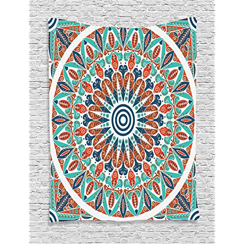 Teal and Orange Decor: Amazon.com