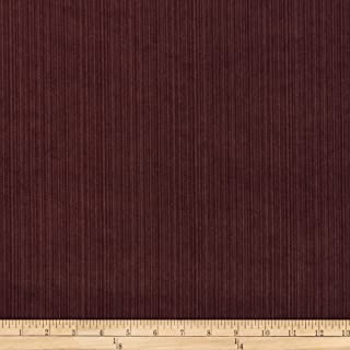 ARTISTRY Selby Velvet Aubergine Fabric by The Yard