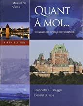 Bundle: Quant a moi, 5th + Workbook with Lab Manual + Audio CD (Stand Alone)