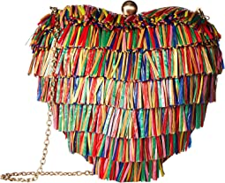 Betsey Johnson Hearts Don't Lie Clutch