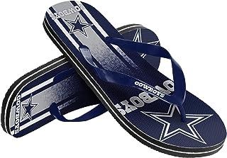 ae1143c4b139 Dallas Cowboys Unisex Gradient Big Logo Flip Flop Extra Small