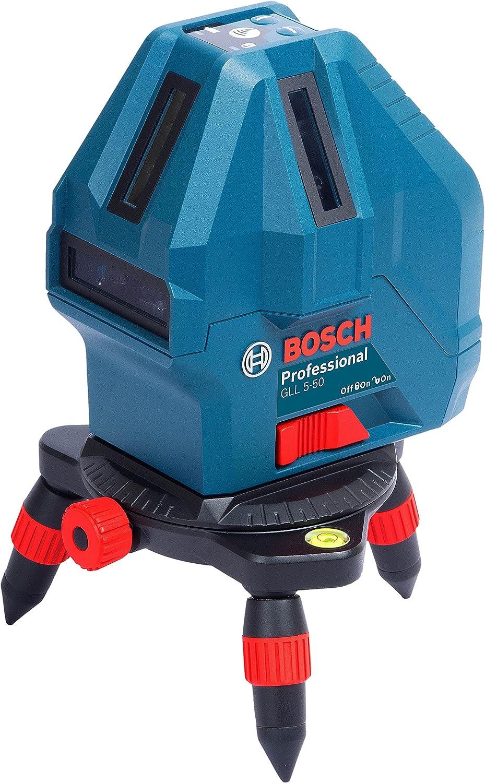 長距離照射が可能|ボッシュ レーザー墨出し器 GLL5-50