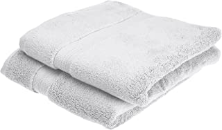 Pinzon Pima Cotton Towel Set (2 Hand Towels) - White