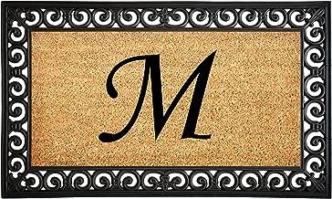 Calloway Mills AZ104131830M Gabriel Monogram Doormat, Letter M