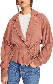 Free People Joani Jacket, Size X-Small - Orange