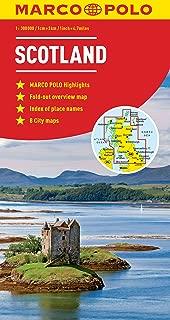 Scotland Northern England Marco Polo Map (Marco Polo Maps)