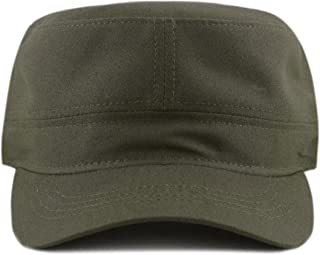 02cd3100 THE HAT DEPOT Made in USA Cotton Twill Military Caps Cadet Army Caps