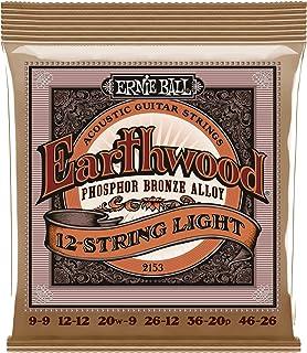 Best Ernie Ball Earthwood 12 Phosphor Bronze Light (9-46) Acoustic Guitar Strings (P02153) Review